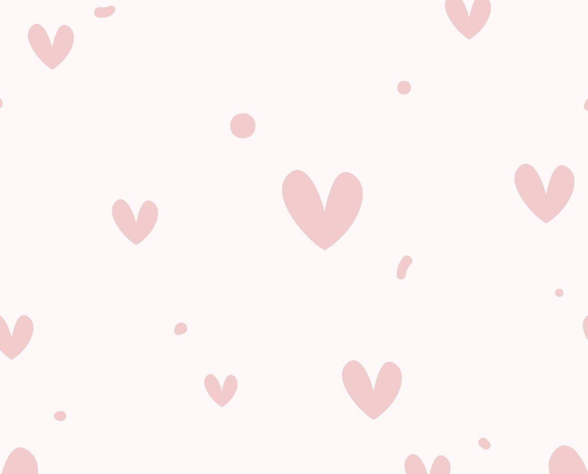 Sweetpea branding hearts image