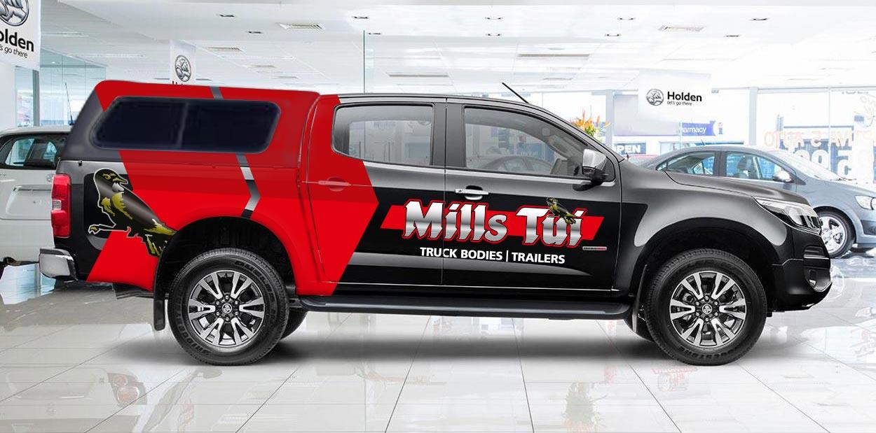 millstui-vehicle-signage-side