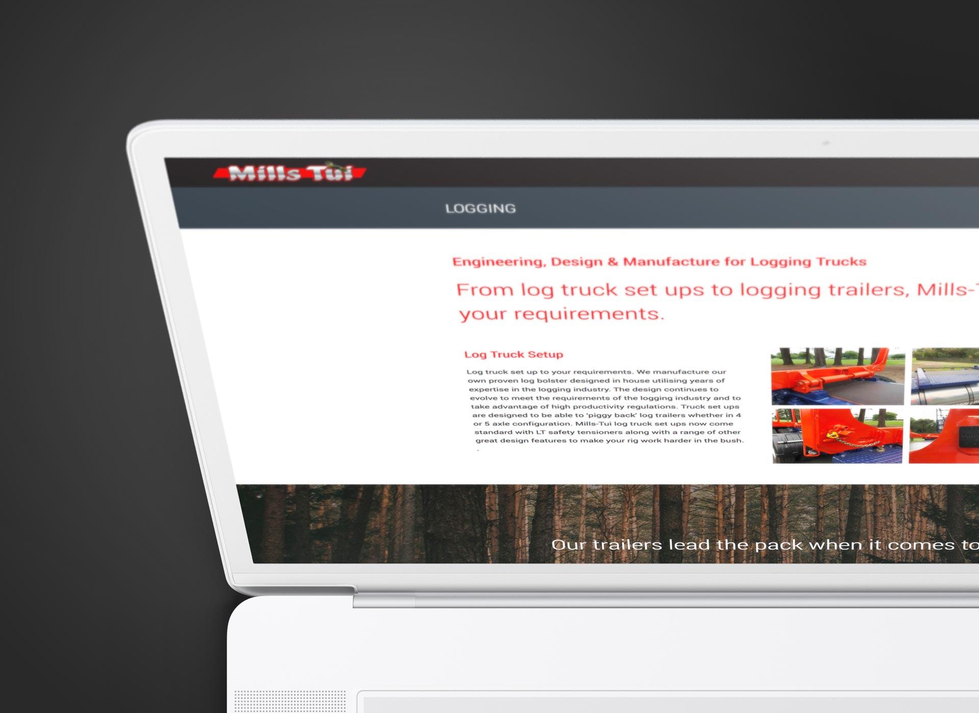 millstui-website-design