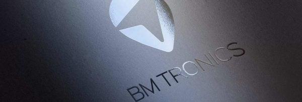 BM Tronics logo design