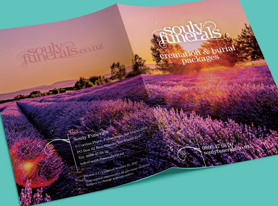 Digital printing for Souly Funerals
