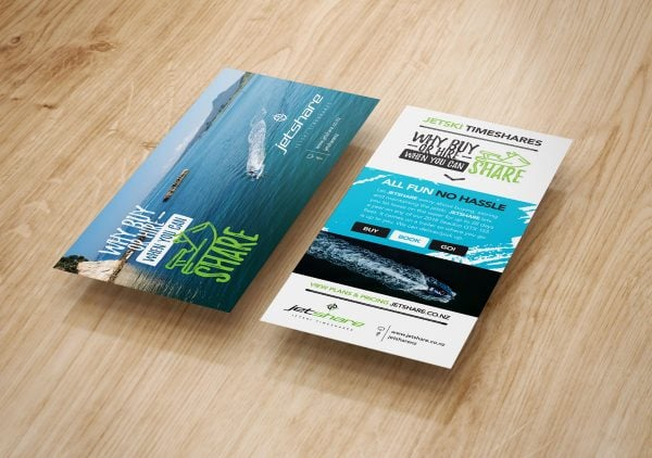 graphic design services for jetshare campaign