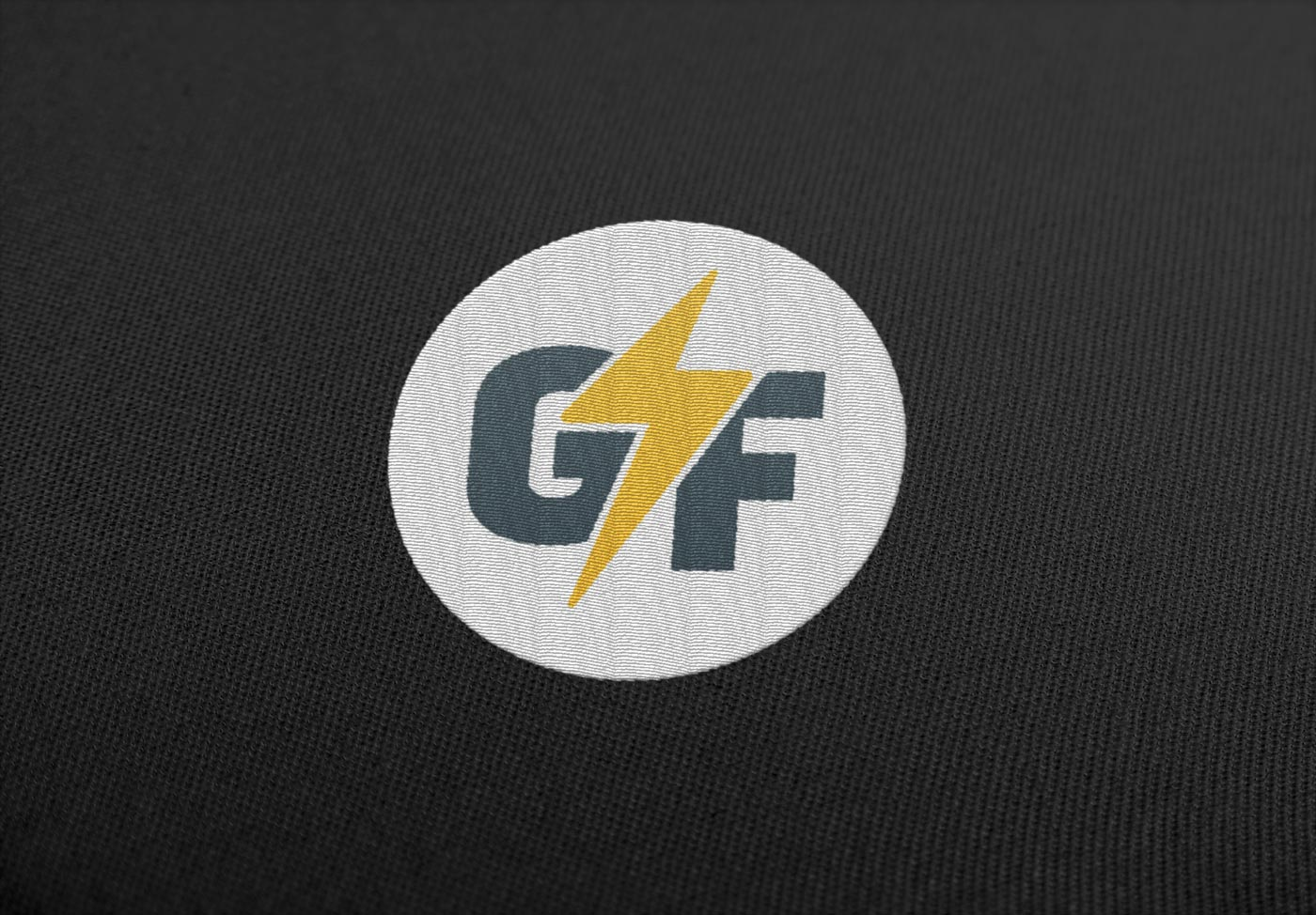 logo design embroidery gf