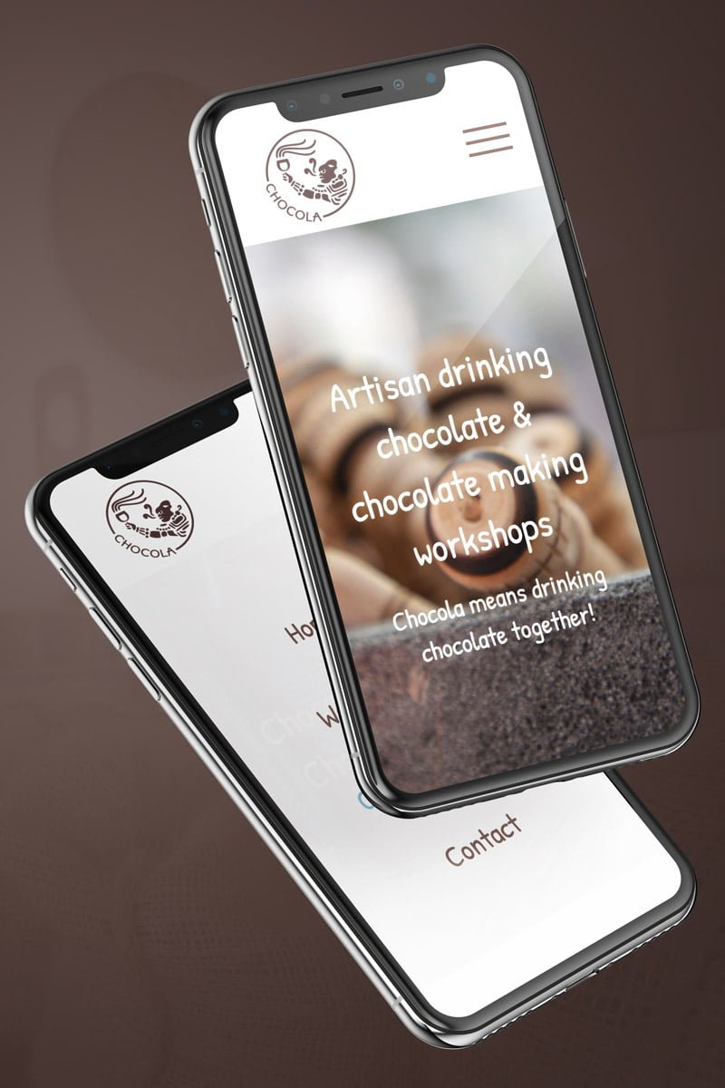 chocola-mobile-friendly-website-design
