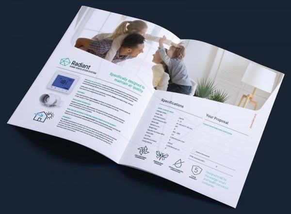 diamond-air-radiant-a4-brochure-design
