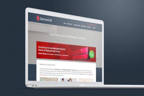 website-design-tauranga-diamond-air