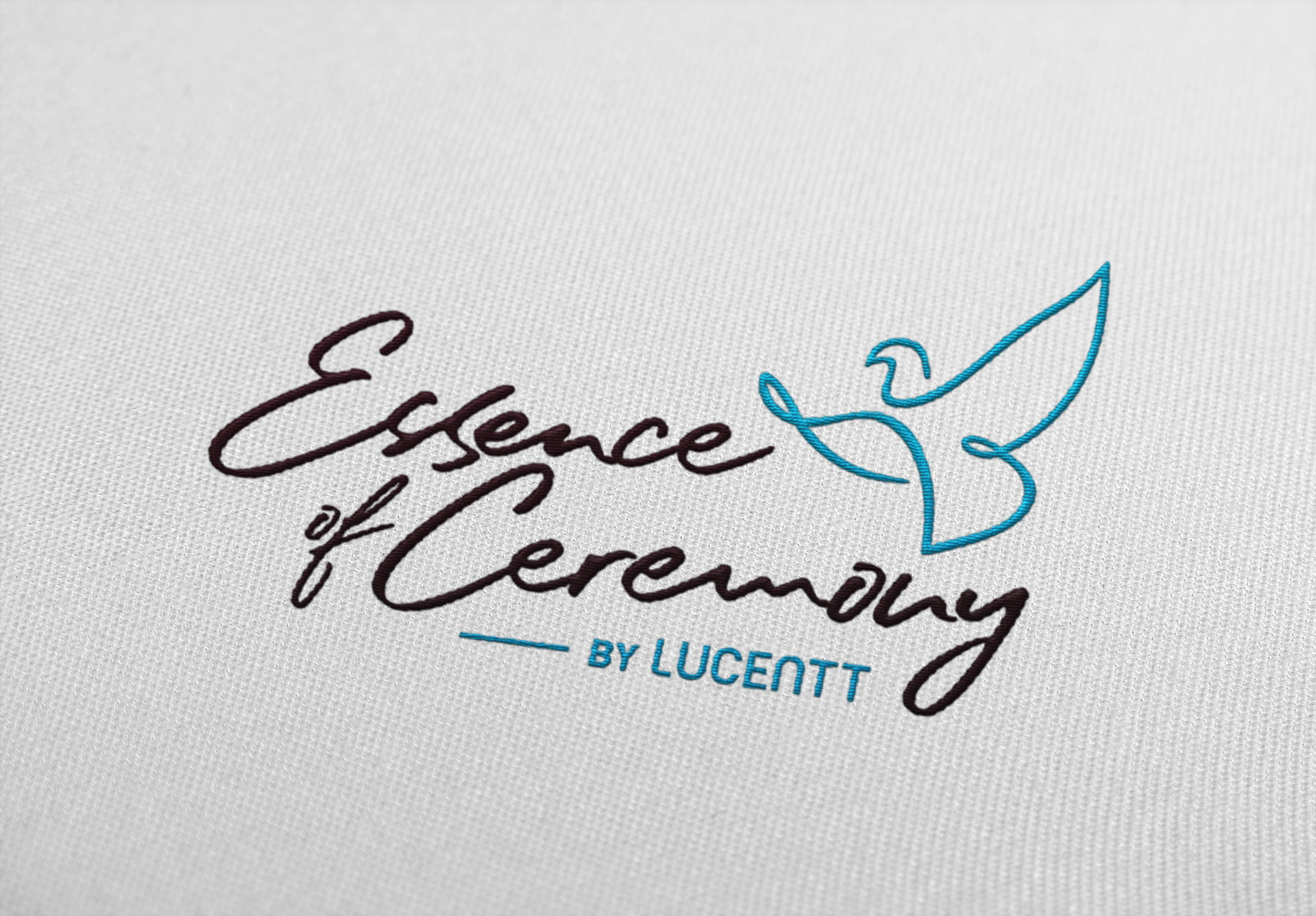 logo design eoc embroidery