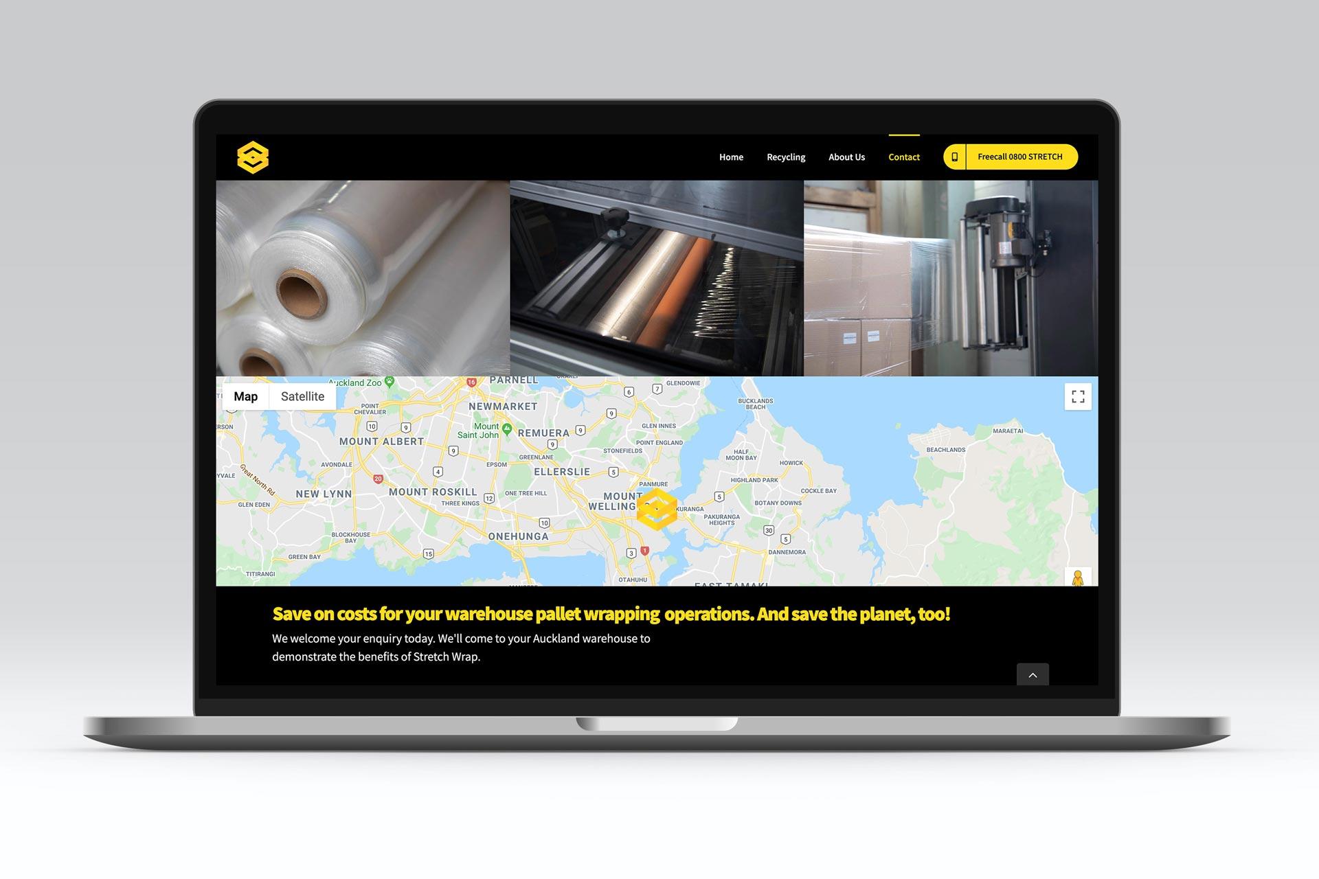 content creation web design laptop
