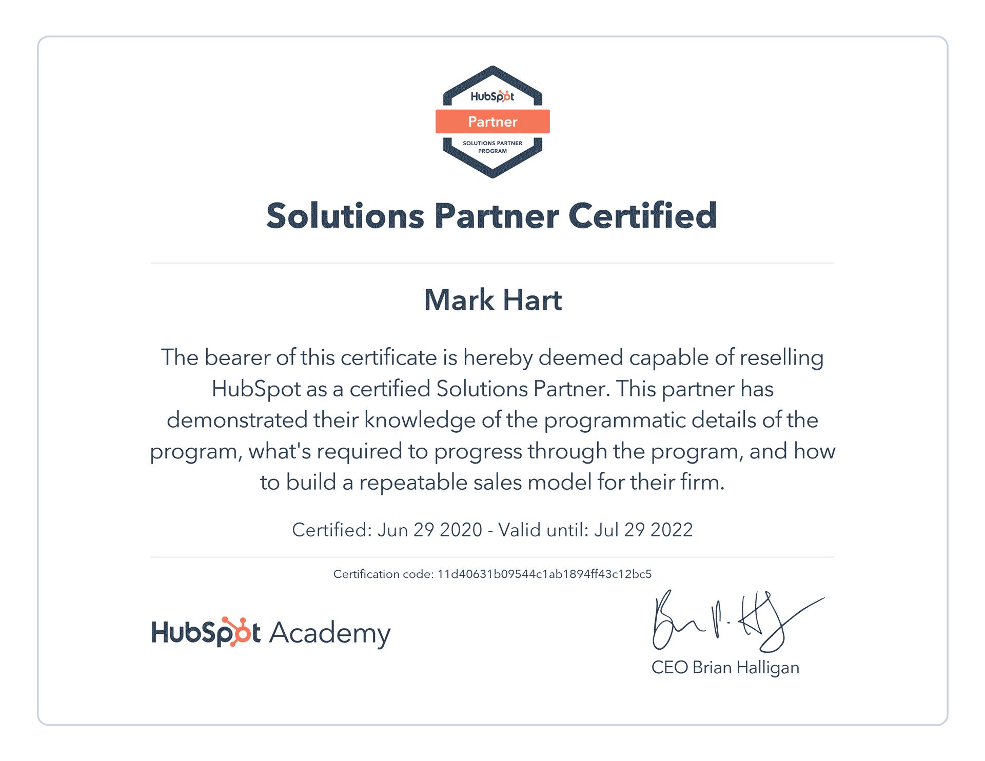 hubspot-solutions-partner-cert