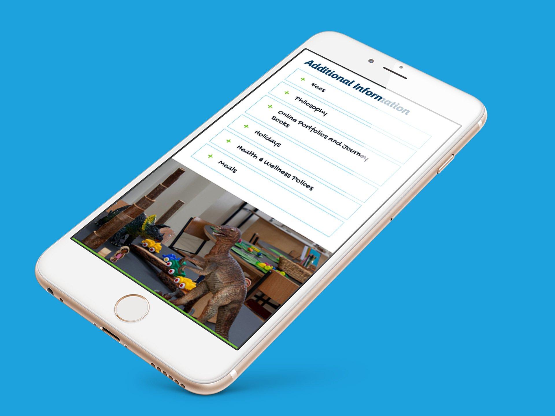 piccolo park mobile friendly website design 02